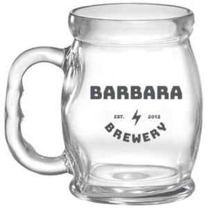 Caneca de vidro Bar Brasil Personalizadas