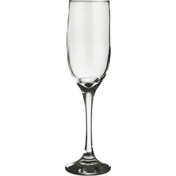 taça de champagne de vidro 190ml