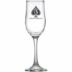 Taça de Vidro Champagne Barcelona Personalizada