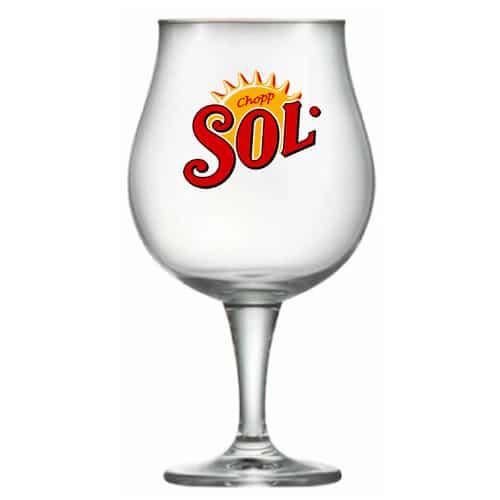 Taça Personalizada de Cristal Para Cerveja Mason 660ml